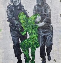 Violenta acción policial a la mítica Alacannabis