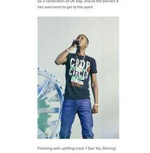 Rapper Nines faces prison over cannabis import plot.
