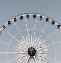Ferris Wheel in the California dessert.