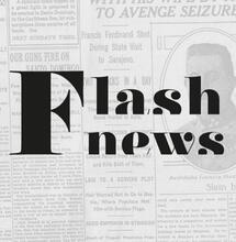 Flash news
