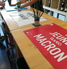 Le mouvement des jeunes macronistes favorable à la légalisation