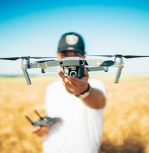 Drones para la cannabicultura