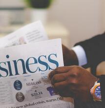 business newspaper