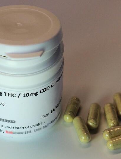 legal medical cannabis capsules.