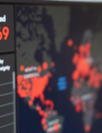 statistics on screen
