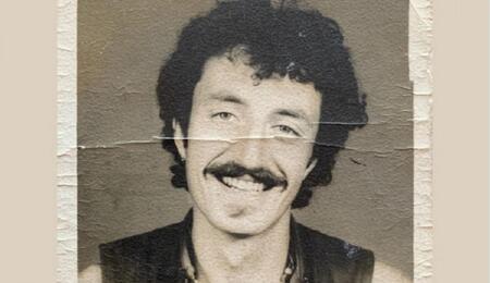 Frenchy Cannoli in India intorno al 1980 (foto: Madame Cannoli)
