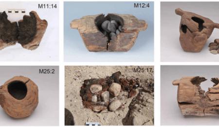 Pipas de madera utilizadas hace 2500 años en China para fumar cannabis.