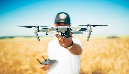 El uso de drones para cannabicultura a gran escala llegó para quedarse.