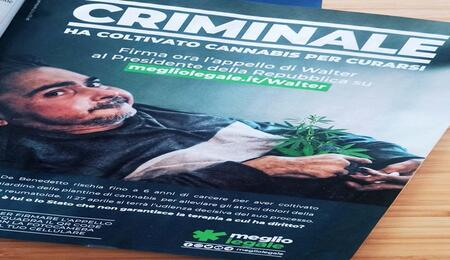 Gli antiproibizionisti si mobilitano per il processo di Walter De Benedetto