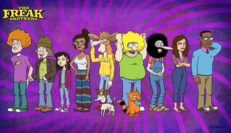Il ritorno dei mitici Freak Brothers in cartone animato