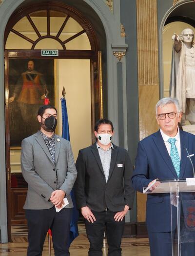 Rueda de prensa de Koldo Martínez y Ramón Morcillo
