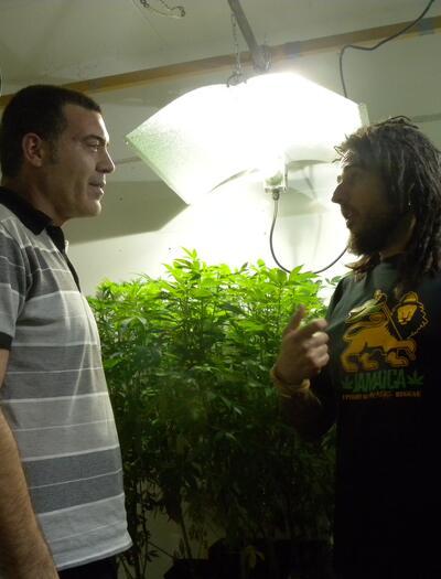 Jaime de Resin Seeds y Jimmi de Reggae Seeds, los iniciadores de la ola CBD