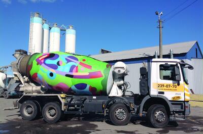 Cementwagen Kiev 2016